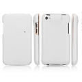 SGP iPod Touch 4G Leather Case Valencia Swarovski Series [White]